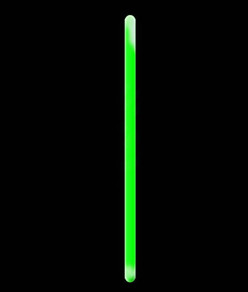 10″ Green PREMIUM LIGHT STICKS (pack Of 25)
