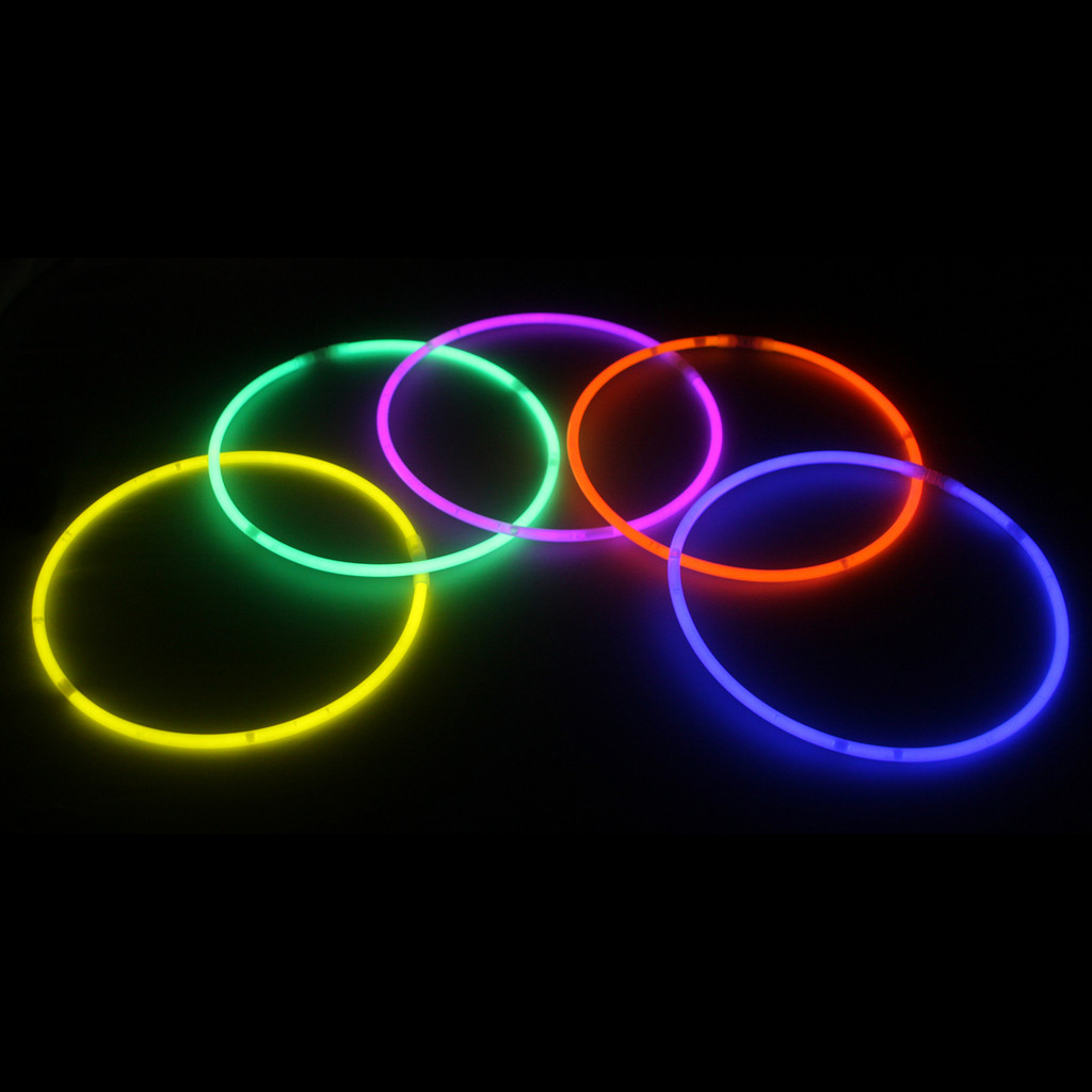 22″ Glow Necklaces Mix Color