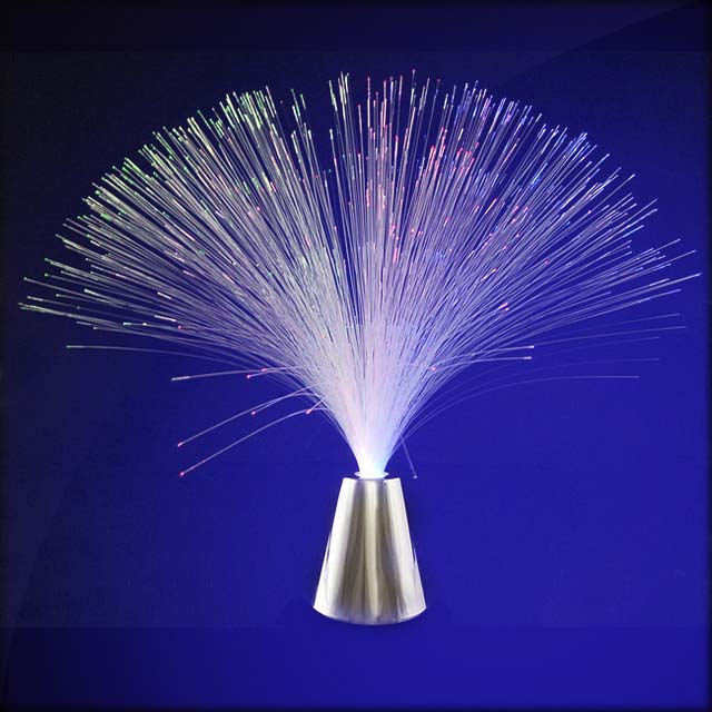 Multicolor fiber optics centerpiece 3 small